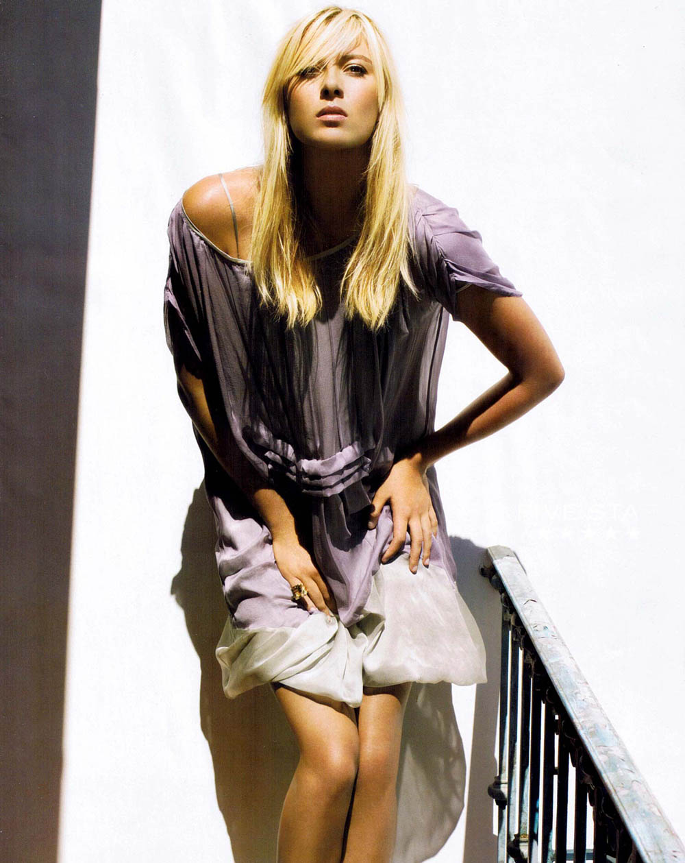 Looking like a diva hot and beautiful Maria Sharapova