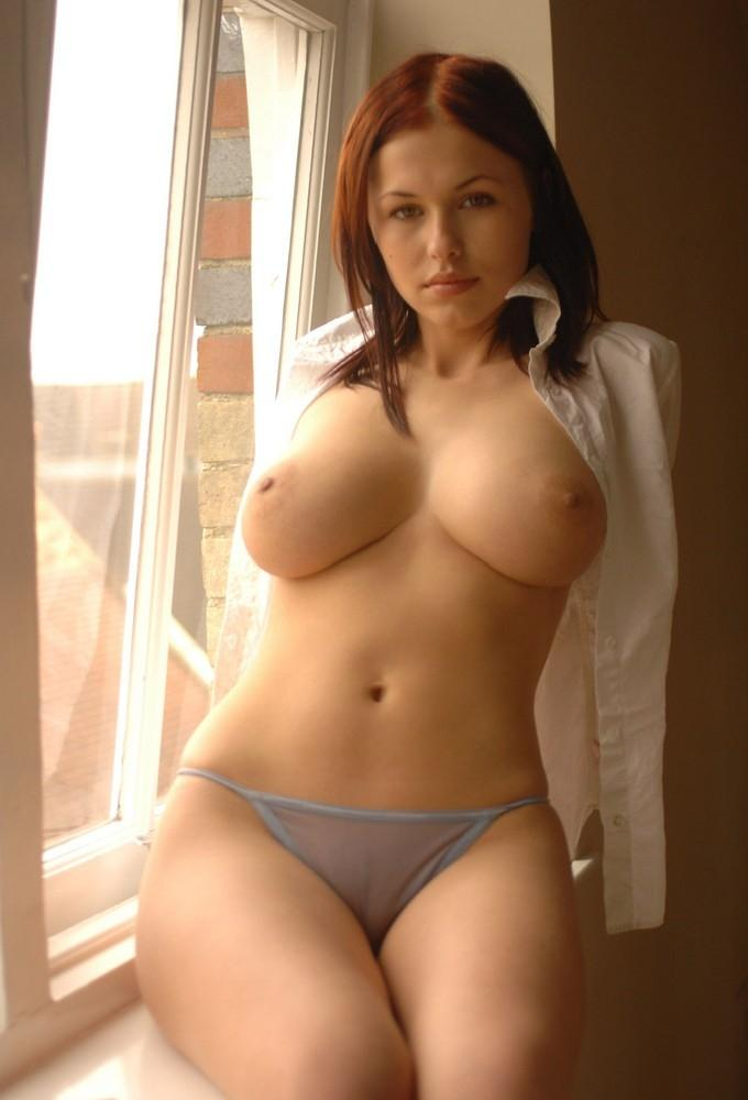 Tremendous model with huge breast and nice curves
